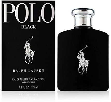 Ralph Lauren - POLO BLACK Eau De Toilette vapo 125 ml: Amazon.es ...