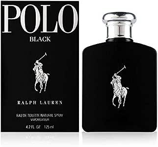 Ralph Lauren - POLO BLACK Eau De Toilette vapo 125 ml: Amazon.es ...