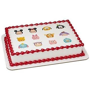 1/4 hoja - Disney Tsum Tsum Totes Adorbs - Gorro - para tartas ...