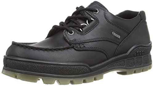 ECCO Men's Track II Low GORE-TEX waterproof outdoor hiking shoe, Black, 44 EU/10-10.5 M US
