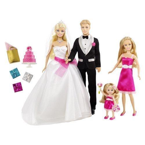 2009 Bridesmaid Dresses (Barbie I Can Be a Bride Wedding Set)