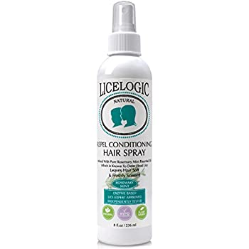 Licelogic repel Conditioning Hairspray, Rosemary Mint, 8 Ounce