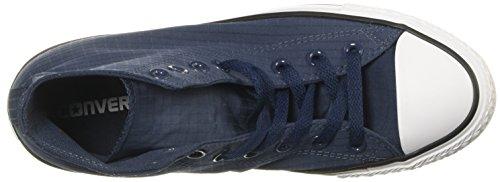 Converse Unisex-Erwachsene Chambray Sneaker Athletic Navy White Black Blau