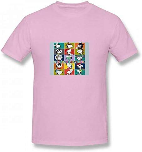 トップス スヌーピー - あなたは何でもよい Men T-Shirt メンズ Tシャツ