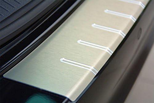 2129-500 WGS Ladekantenschutz Sto/ßstangenschutz Lackschutz mit ABKANTUNG mit Sicken aus AluNox/®