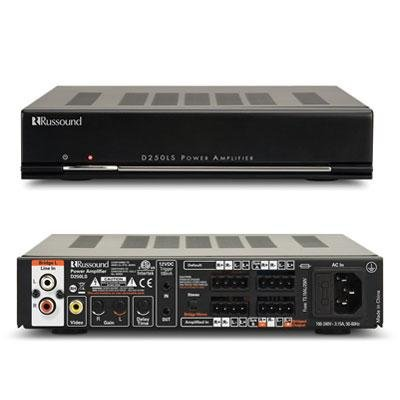 Russound D250LS 50W Two-Channel Amplifier by Russound