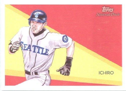 2010 Ichiro Suzuki Rookie Card - 2010 Topps National Chicle Baseball Cards # 3 Ichiro Suzuki - Seattle Mariners - MLB Trading Card