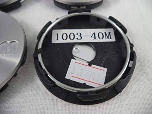 RotiForm Silver Custom Wheel Center Caps # 1003-40M Silver Emblem QTY 1
