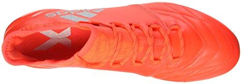 Adidas Herren X 16.1 Pelle Fg Fußballschuhe Marciume (rosso Solare / Argento Metallizzato / Rosso Hi-res)