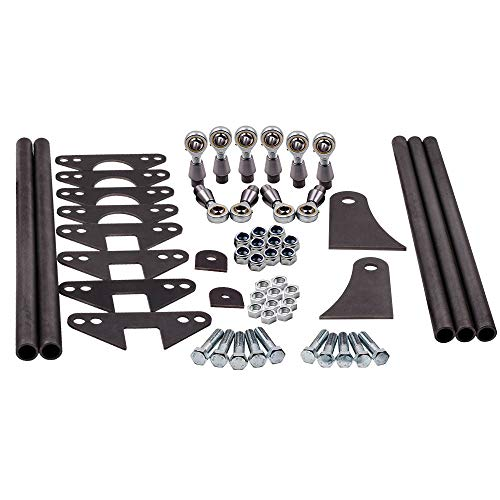 Waverspeed Universal Weld On Parallel 4 Link Suspension Kit 5 Bars Classic Car Rat Rod Mounts