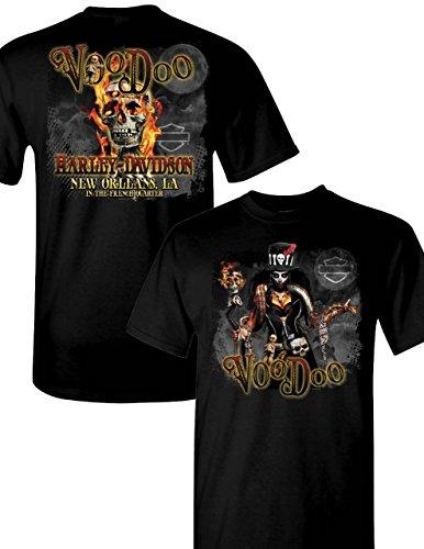 Voodoo Harley-Davidson Men's Charmer T-Shirt (X-Large)