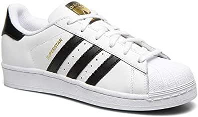 adidas White & Black Fashion Sneakers For Unisex
