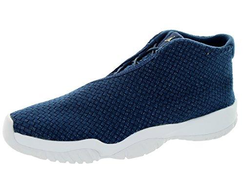 big sale 01390 67e8b Nike Jordan Menss Air Jordan Fremtiden Midnatt Marineblå   Hvit Basketball  Sko 9 Menn Oss