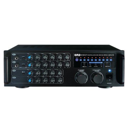 EMB Pro 700-watt Digital Karaoke Mixer Stereo Amplifier EBK37