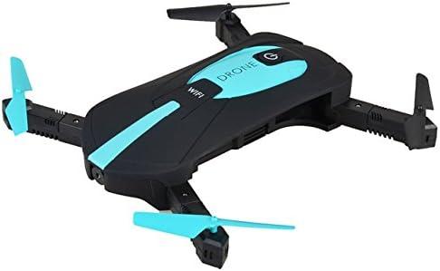 techcomm plegable Mini selfie RC jy018 Drone con luces LED 0.3 MP ...