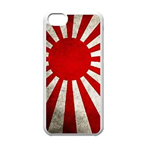 Japan Flag iPhone 5c Cell Phone Case White afyn