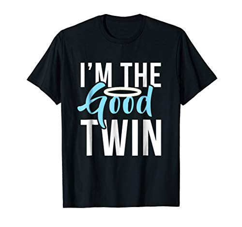 Im The Good Twin | Funny Halloween Horror Shirt ()