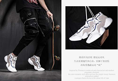 blanc Hop 38 Respirante White Maille Pour Homme Femmes De Style Danliker Chaussures Noir Lady Harajuku Sport Course Hommes Hip qxpa4