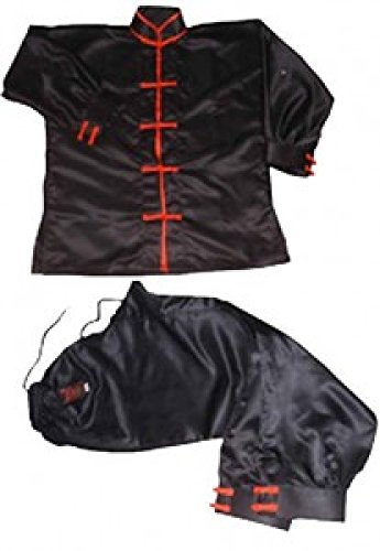 Kung-Fu Master Senior Master schwarz rot