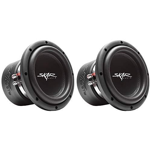 (2) Skar Audio VVX-8v3 D4 8