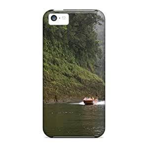 High-end Cases Covers Protector For Iphone 5c(whanganui River)