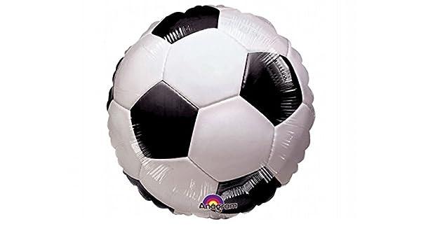Partydeco Balón Globo De Foil Mylar a forma de balón de fútbol de ...