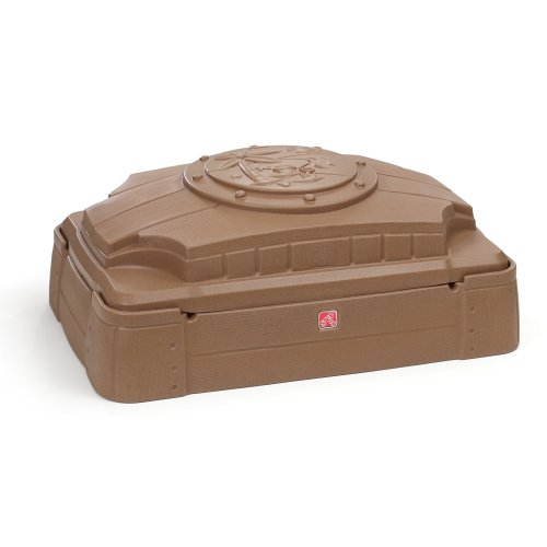 Step2 Play and Store Sandbox With Cover (Sandbox Tikes Little Turtle)
