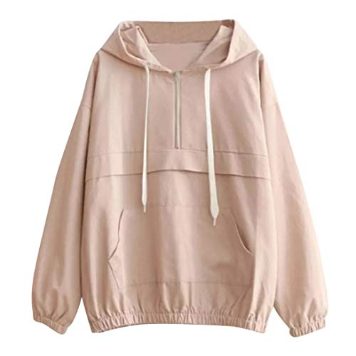 Animal Jacket Trim (Womens Sports Coat, NEARTIME 2018 Autumn New Women Long Sleeve Blouse Patchwork Zipper Thin Skinsuits Hooded Casual Jacket)