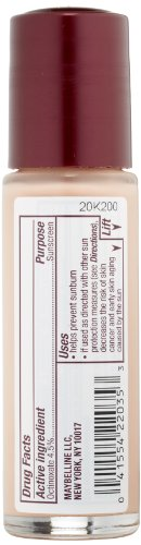 Maybelline New York Instant Age Rewind Radiant Firming Makeup, Creamy Ivory 120, 1 Fluid Ounce
