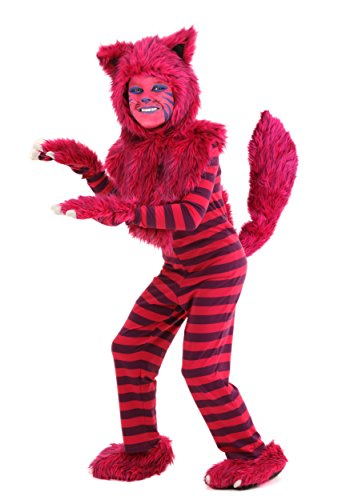 Child Deluxe Cheshire Cat Costume (Cheshire Cat Costume Kids)