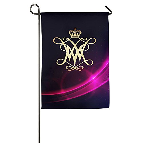 [William And Mary College Home Garden Flags] (Applique College Flag Banner)