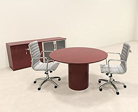 Amazoncom Modern Contemporary Round Conference Table RONAPC - Modern round conference table