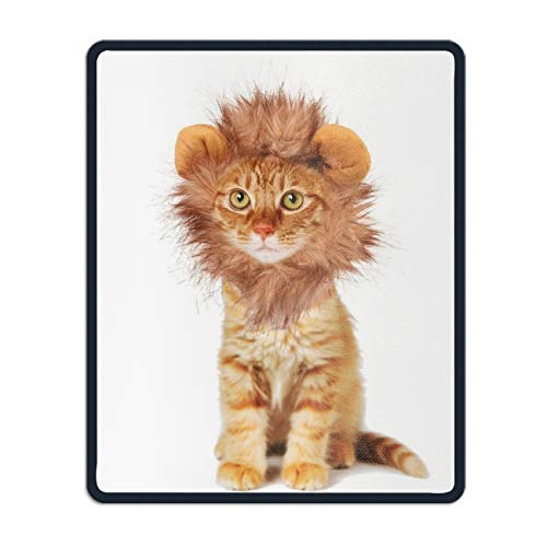 Cat Halloween Costumes Customized Non-Slip Rubber Mousepad Gaming Mouse Pad - 8.66