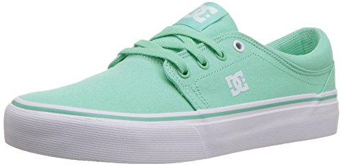 DC Women's Trase TX Skate Shoe, Mint, 9 B B US by DC