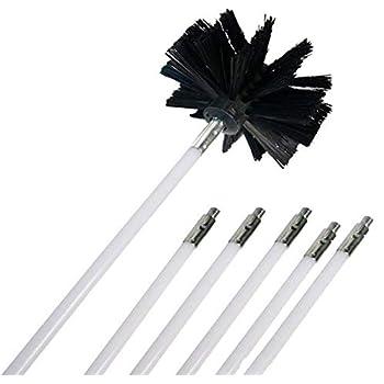 Amazon Com Ochine Nylon Chimney Brush And Rods Kit Electrical Rotary Drill Drive