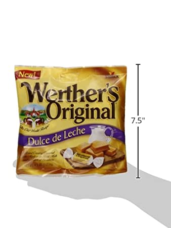 Amazon.com : Werthers Original Dulce de Leche Caramels, 4.5 Ounce (Pack of 12) : Caramel Candy : Grocery & Gourmet Food