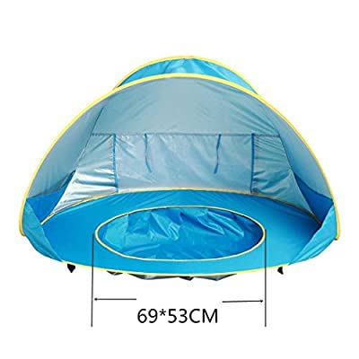 Wumedy Kids Baby Games Outdoor Swimming Pool Waterproof Portable House Toys Beach Tent Shoulder Bags: Clothing