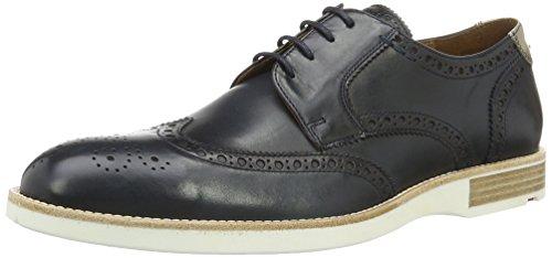 Lloyd Jaromir, Zapatos de Cordones Derby para Hombre Blau (DARK BLUE/NATUR)
