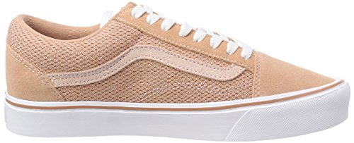 Varevogne Dame Old Skool Lille Sneaker Pink (mesh / Ruskind) Zbiu60