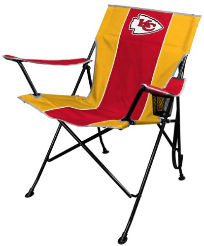 Tailgating Folding Tailgate Chair (NFL Portable Folding Tailgate Chair with Cup Holder and Carrying Case)