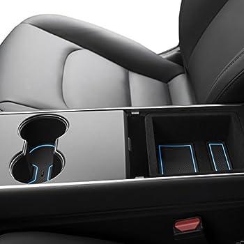 Amazon.com: CupHolderHero Tesla - Bandeja modelo 3: Automotive