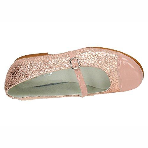 eeccfae073e BAMBINELLI 2108 Bailarinas DE Piel Niña Manoletinas  Amazon.es  Zapatos y  complementos