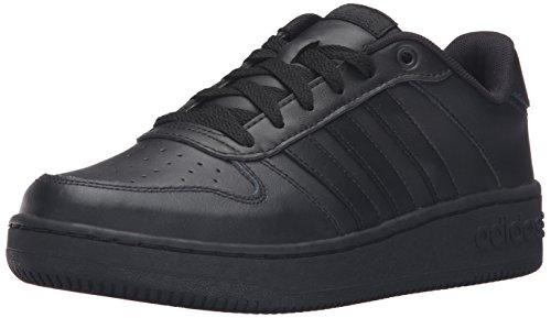 quality design 79c8b 29c3d adidas NEO Womens Team Court W Casual Sneaker,BlackBlackBlack,8