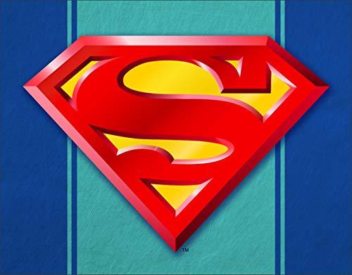 (Superman Logo Tin Sign)
