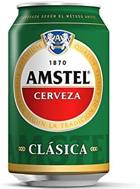 Amstel - Clásica, 33 cl: Amazon.es: Alimentación y bebidas