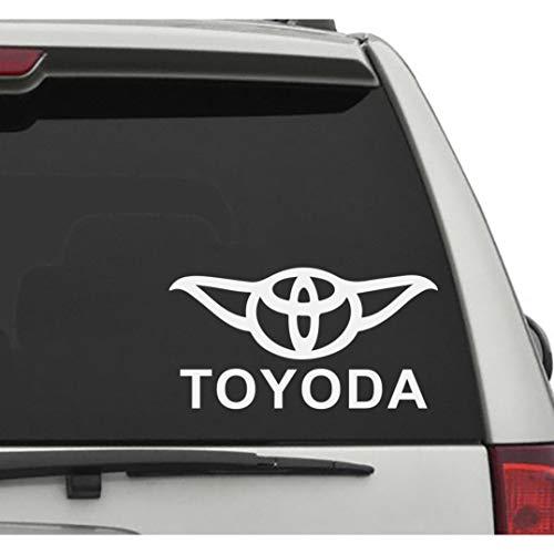 Seek Racing Toyoda Decal CAR Truck Window Bumper Sticker Toyota Boost Low Euro Illest JDM KDM Funny YODA Star Wars