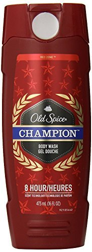 Old Spice Body Wash - Champion - With 8 Hour Scent Technology - Net Wt. 16 FL OZ (473 mL) Each - Pack of 2 (Champion Body Wash Old Spice)