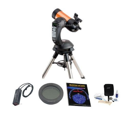 Celestron NexStar 4 SE Maksutov-Cassegrain Computerized Telescope - with Accessory Kit (Night Vision Flash Light, Sky Maps, Moon Filter, Optical Cleaning Kit) by Celestron