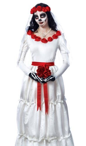 Day of the Dead Bride Adult Costume - Large -