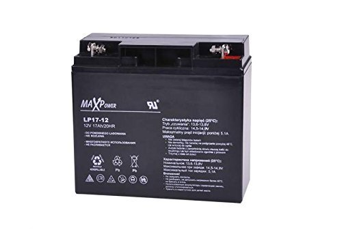 MaxPower 12V 17Ah Deep Cycle Sealed AGM Gel Battery Maitanence Free Scooter...